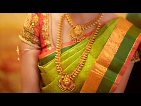 Latest gold haram designs for bride/Trending all
