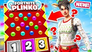 PLINKO for Our Load Out! *NEW* Game Mode in Fortnite