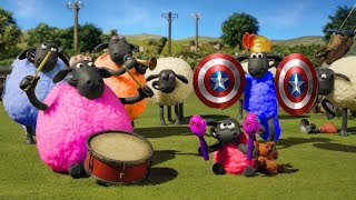 SHAUN THE SHEEP |  #Best Wise Sheeps ► #Music Star Idol #A Prickly Problem