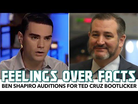 Ben Shapiro Auditions For Ted Cruz Bootlicker