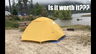 The North Face Storm Break 2 Tent Review