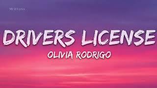 Olivia Rodrigo - drivers license (Lyrics) - 1 Hour Lyrics