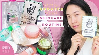 Updated Skincare Routine for Dry, Sensitive & Oily Skin Types | Clear Skin Routine