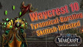 BFA - 8 0 Affliction Warlock DPS Guide! Azerite, Talents and