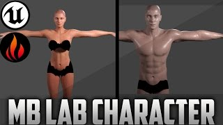 Unreal Engine 4 - Manuel Bastioni Lab Character Creation #3