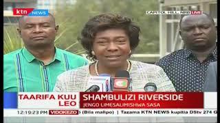 We will not be cowed into accepting defeat: Charity Ngilu, Gavana wa Kitui