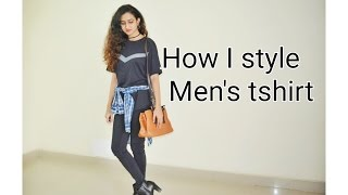 How I style: Men's tshirt