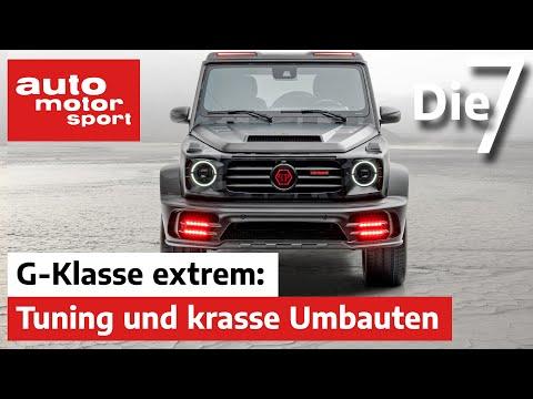 Brabus, Mansory und Co.: Die 7 krassesten Mercedes G-Klassen | auto motor und sport
