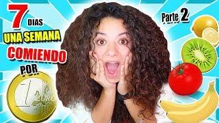 UNA SEMANA COMIENDO POR 1€ Al Dia! 💰 I Only Spent 1€  For 24 H (Parte 2) Arivi TV