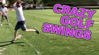 Crazy Golf Swings to get you through the week
