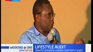 Senate speaker Ken Lusaka is for the lifestyle audit of politicians