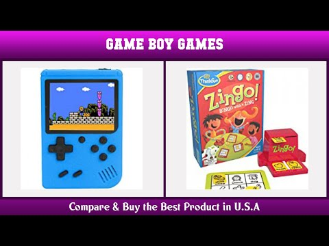 Top 10 Game Boy Games to buy in USA 2021 | Price & Review