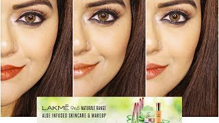 Lakme 9 to 5 Naturale Finishing Powder & Matte Sticks (Nudes & Browns) | Swatches & Honest Review