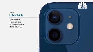 Apple breaks down iPhone 12's new dual-camera system