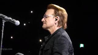 U2 Bad, Tokyo 2019 12 05   U2gigs.com