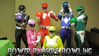 Mighty Morphin Power Rangers Bowling