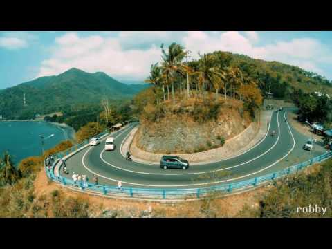 Video Tempat wisata terkenal di Lombok island.