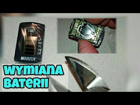 Bohater domu - Brita Aluna XL wskaźnik memo jak wymienić baterię?