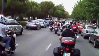 preview picture of video 'Reunión Motera Fiestas Consolación 2014 Pozuelo de Alarcón (Versión corta)'