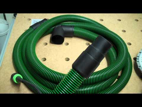 Making a 36mm to 27mm Festool Hose Adapter