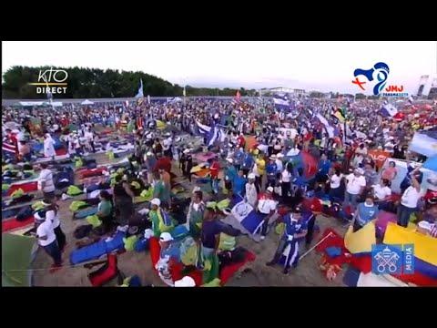 JMJ au Panama : veillée avec le pape François