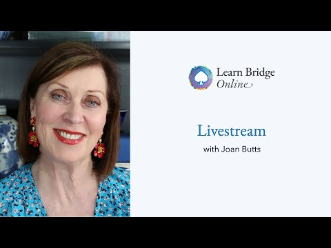 Free Livestream with Joan Butts