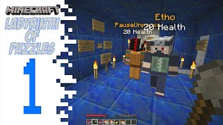 Minecraft Labyrinth Of Puzzles - Poor Etho