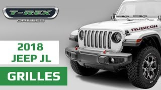T-Rex Grilles: Insert-Style Grilles for Jeep Wrangler JL