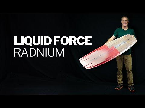 2019 Liquid Force Radnium Kiteboard Twintip Review