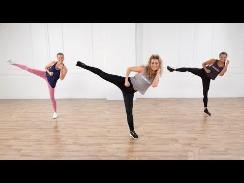 30-Minute No-Equipment Cardio Kickboxing Workout