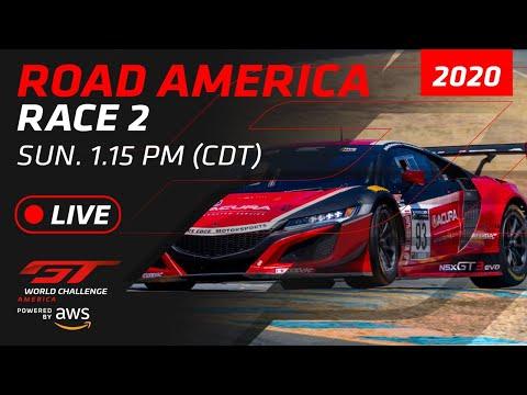 【動画】ブランパンGTワールドチャレンジ・アメリカ(ロード・アメリカ)レース2フルレース動画