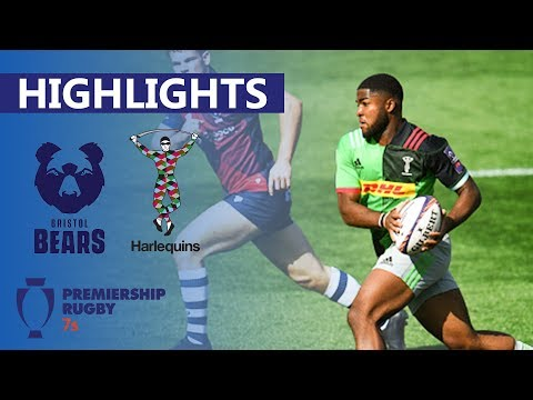 Bristol 21-10 Harlequins | Bristol Cruise Through To The Semi-Finals | Premiership 7's Highlights