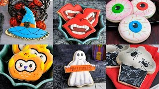 AMAZING HALLOWEEN COOKIES, VAMPIRE, WITCH, GHOST, SPIDERS, OWLS By HANIELAS