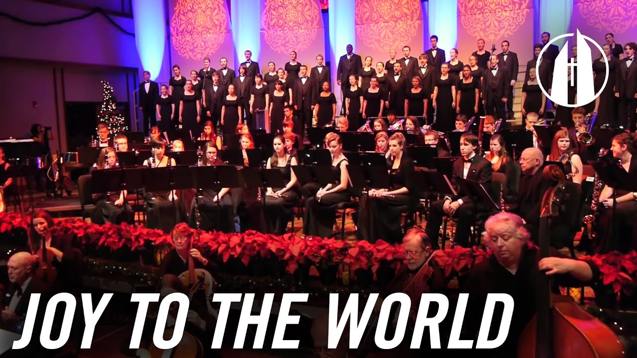 Watch video: Joy to the World | Merry Christmas from George Fox University