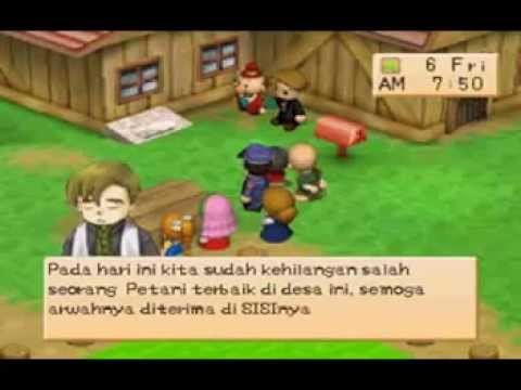 How to play harvest moon back to nature on iphone? (with