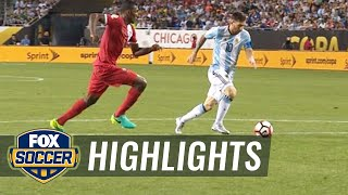 Messi slots one home to double Argentina's lead | 2016 Copa America Highlights by FOX Soccer