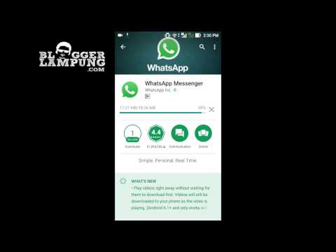 Video Cara Daftar WhatsApp Messenger dengan Mudah