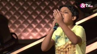 Arnabh Sarkar - Blind Audition - Episode 8 - August 14, 2016 - The Voice India Kids