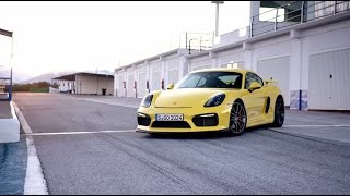 The new Cayman GT4: mid-engine hero.