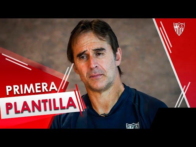 Julen Lopetegui, entrenador del Sevilla FC.