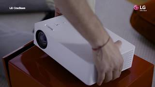 LG Proyectores LG CineBeam | Hasta 120 pulgadas con Smart TV integrado anuncio