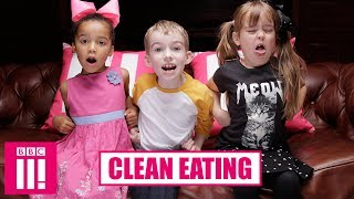 Kids React To Clean Eating | 3 Kids On Three