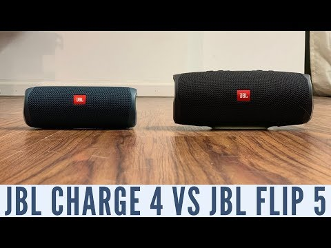 Download Jbl Flip 4 Vs Jbl Charge 3 Video 3GP Mp4 FLV HD Mp3