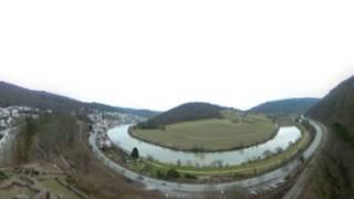 三堡鳥瞰內卡河