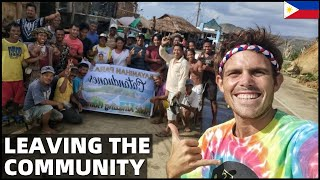 BecomingFilipino – LEAVING FILIPINO COMMUNITY – Driving Home After Typhoon Bayanihan In Bicol (Thank You!)