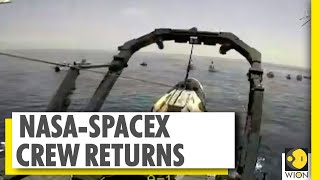 NASA Astronauts return to Earth | Dragon capsule splashes down in Gulf of Mexico | World News