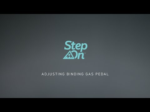 Video: Burton Step On Tutorial - Adjusting Your Gas Pedals