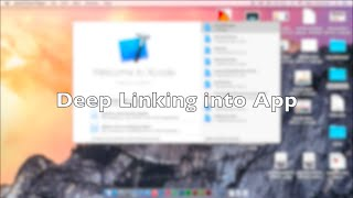 Setting up Deep Links in an iOS app