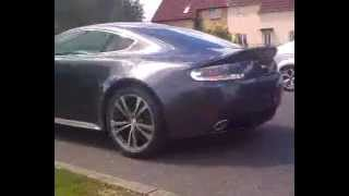 preview picture of video 'Aston Martin V12 Vantage in Welwyn Garden City'