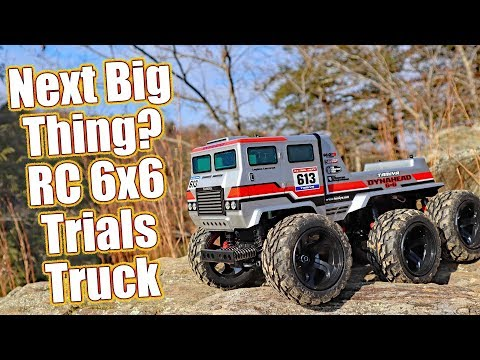 Are You Ready For Truck Trials? – Tamiya DynaHead 6X6 Off-Road G6-01TR Review | RC Driver